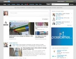 Linkedin twitter design