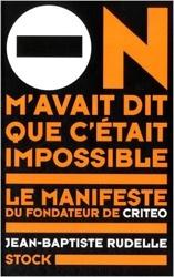 Livre Jean-Baptiste Rudelle de Criteo